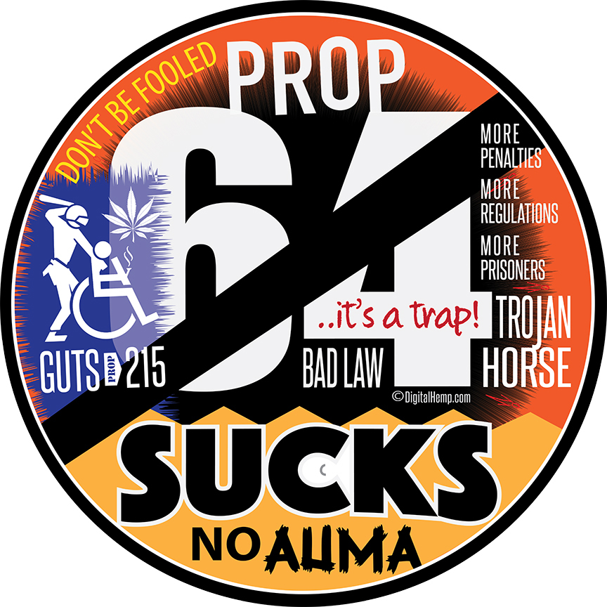 Prop 64 Sucks emblem