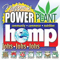 Hemp Nature's Power Plant emblem